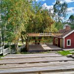 Iloisen kyläteatterin puitteet syksyllä.